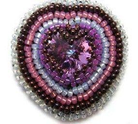 Ciondolo Opal Heart per San Valentino